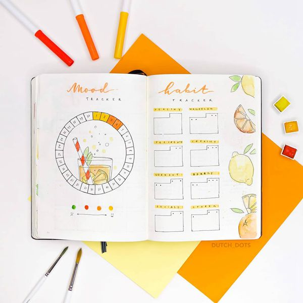 Be Whole as a Wholesome Circle Bullet Journal Mood Tracker Ideas for May